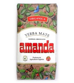 Amanda 阿曼逹有機原味有梗瑪黛茶 500 克