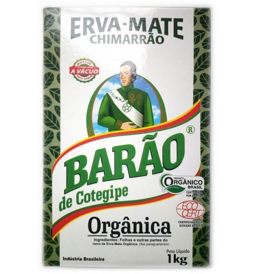 巴西 Barão 伯爵牌原始森林有機原味真空盒裝瑪黛茶 1000 克