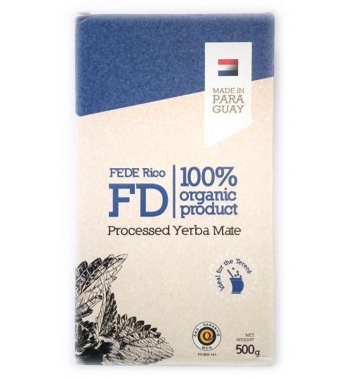 巴拉圭 FD - Fede Rico 費德里科有機原味有梗瑪黛茶 500 克