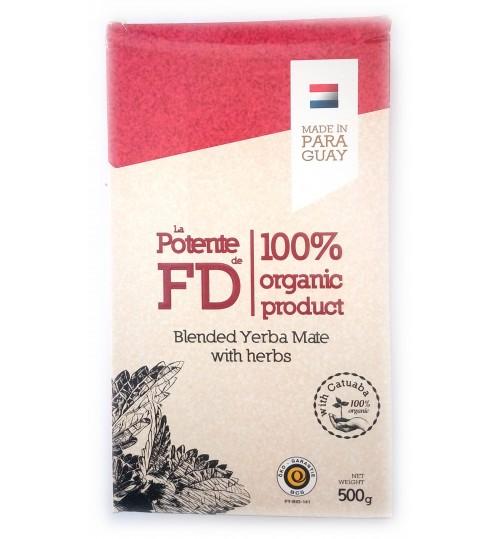 巴拉圭 FD - La Potente 強力有機活力有梗瑪黛茶 500 克