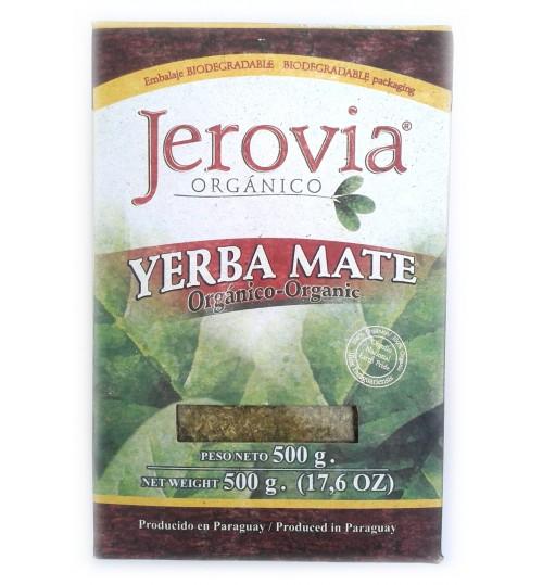 巴拉圭 Jerovia 傑羅威有機原味有梗瑪黛茶 500 克