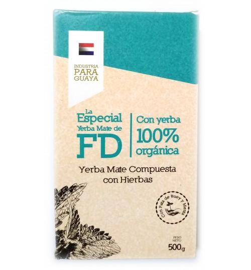巴拉圭 FD - La Especial 特別有機草本有梗瑪黛茶 500 克