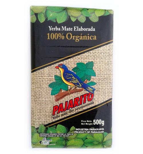 巴拉圭 Pajarito 小鳥牌有機原味有梗瑪黛茶 500 克
