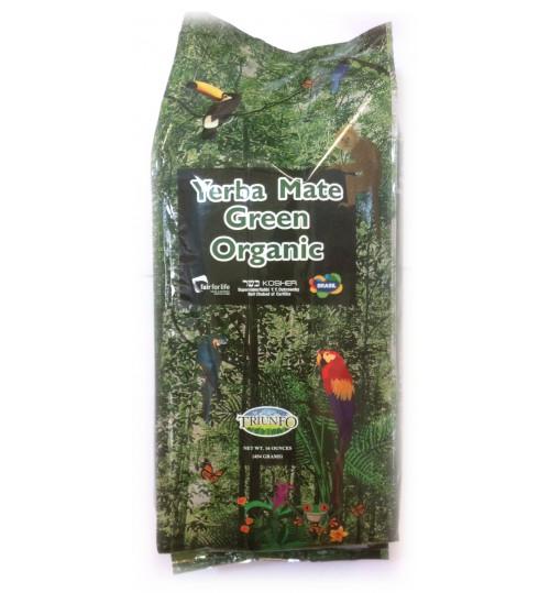 巴西 Triunfo 翠又佛有機綠色原味瑪黛茶 454 克