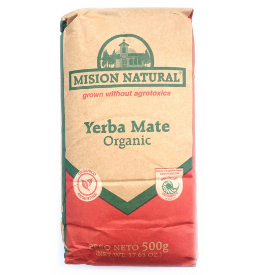 Mision Natural 天然使命有機原味有梗瑪黛茶 500 克