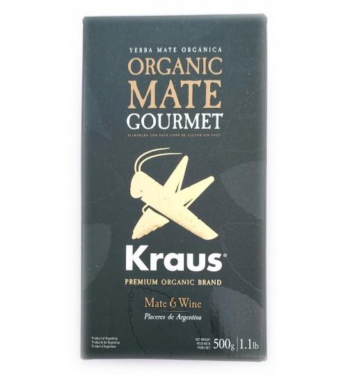 Kraus 卡路仕頂級美食家有機原味有梗瑪黛茶 500 克