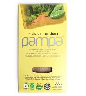 Pampa 攀爬牌有機原味有梗瑪黛茶 500 克
