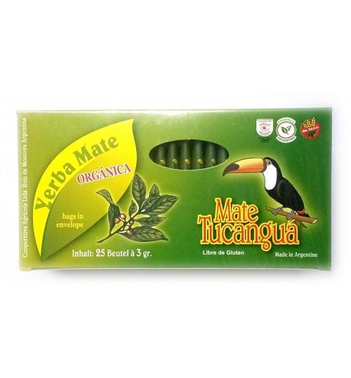 Tucanguá 犀鳥牌有機原味瑪黛茶袋泡茶 25 獨立茶包