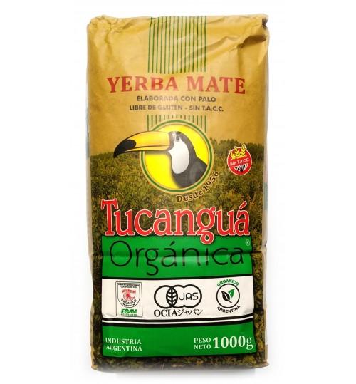Tucanguá 犀鳥牌有機原味有梗瑪黛茶 1000 克