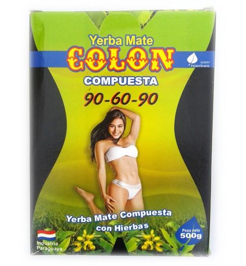 巴拉圭 Colon 科隆牌瘦身有梗瑪黛茶 500 克