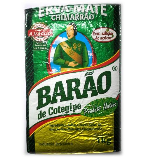 巴西 Barão 伯爵牌原始森林原綠味瑪黛茶真空裝 1000 克