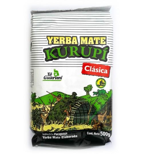 巴拉圭 Kurupi 庫如比經典原味有梗瑪黛茶 500 克