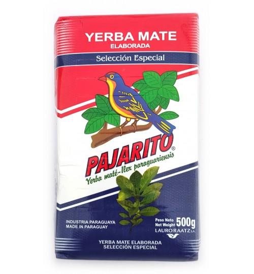 巴拉圭 Pajarito 小鳥牌特選原味有梗瑪黛茶 500 克