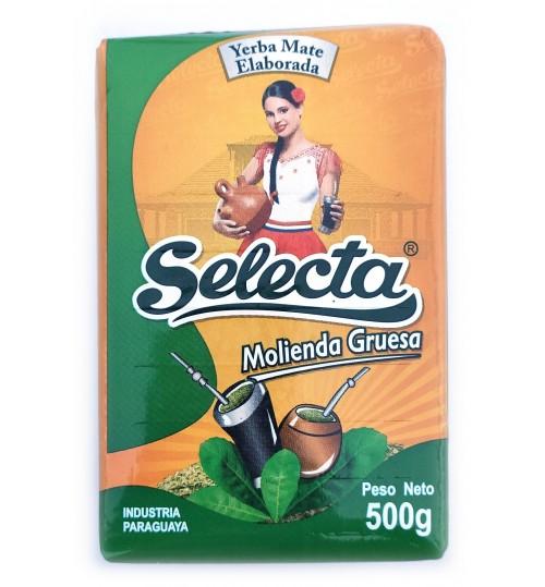巴拉圭 Selecta 佳選牌粗磨原味有梗瑪黛茶 500 克