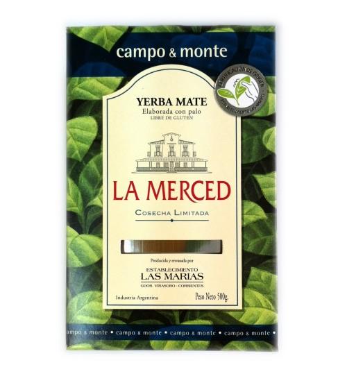 La Merced 聖恩頂級溫醇原味有梗瑪黛茶 500 克