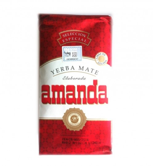 Amanda 阿曼達特選原味有梗瑪黛茶 500 克