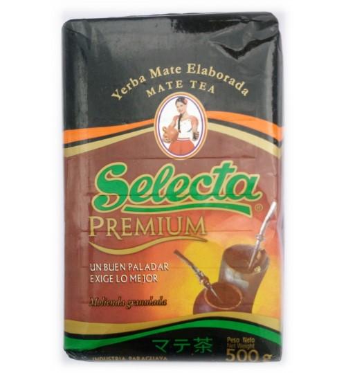 巴拉圭 Selecta 佳選牌頂級原味有梗瑪黛茶 500 克