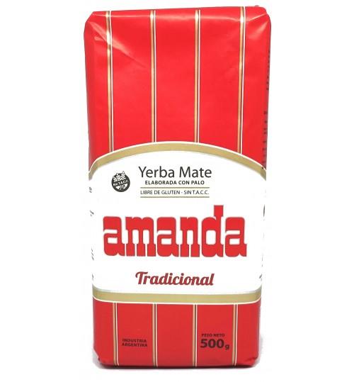 Amanda 阿曼達傳統原味有梗瑪黛茶 500 克