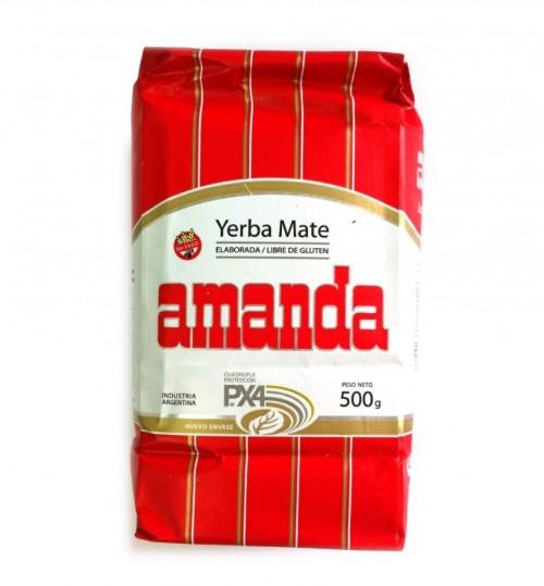 Amanda 阿曼逹傳統原味有梗瑪黛茶 500 克