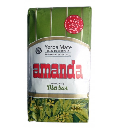 Amanda 阿曼達混合草本味有梗瑪黛茶 500 克