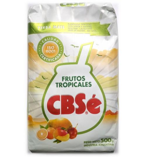 CBSe 可絲牌熱帶水果味有梗瑪黛茶 500 克