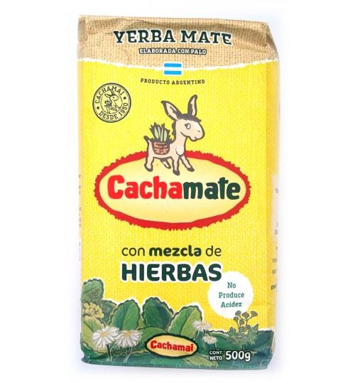 Cachamate 卡查嘜中和酸性草本味有梗瑪黛茶 500 克