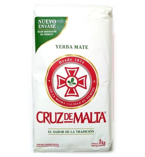 Cruz de Malta 馬爾他十字傳統原味有梗瑪黛茶 1000 克
