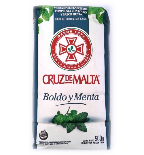 Cruz de Malta 馬爾他十字博爾多和薄荷味瑪黛茶 500 克