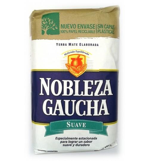 Nobleza Gaucha 高茶貴族柔順原味有梗瑪黛茶 500 克