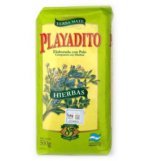 Playatido 帕雅蒂圖混合草本有梗瑪黛茶 500 克