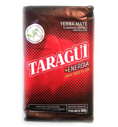 Taragüi 達然桂活力原味有梗瑪黛茶 500 克