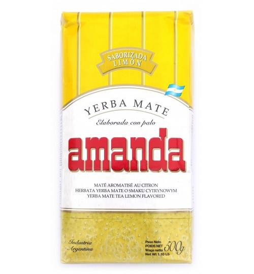 Amanda 阿曼達檸檬味有梗瑪黛茶 500 克