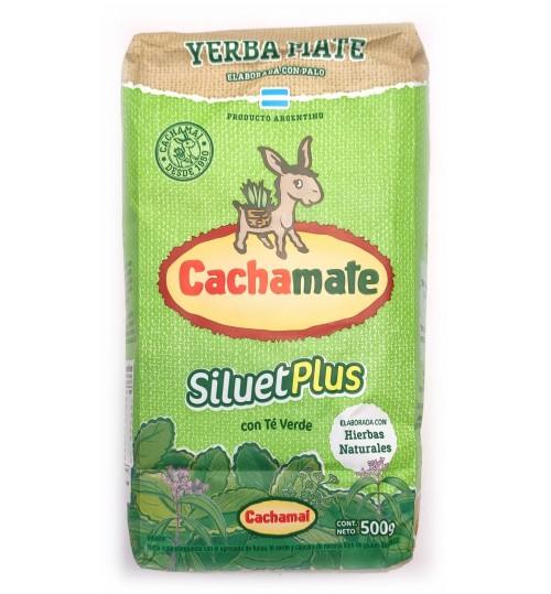 Cachamate 卡查嘜綠茶味塑身有梗瑪黛茶 500 克