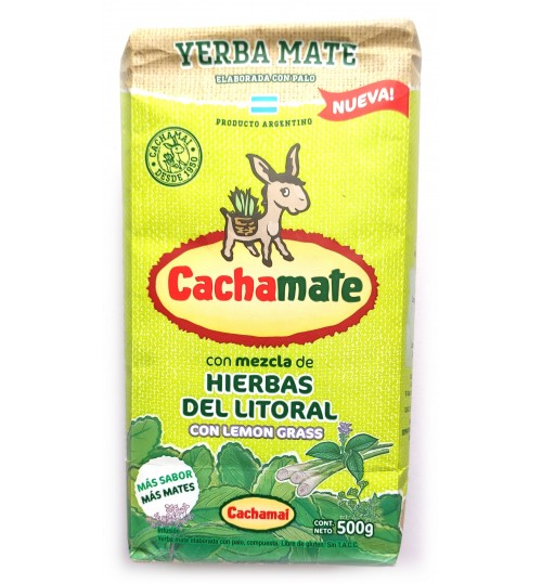 Cachamate 卡查嘜檸檬草味有梗瑪黛茶 500 克