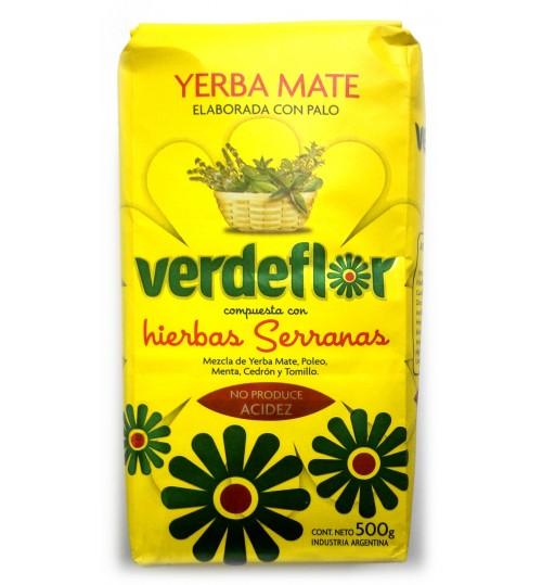 Verdeflor 翠綠花混合草本有梗瑪黛茶 500 克