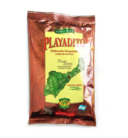 Playatido 帕雅蒂圖原味無梗瑪黛茶 50 克試用裝