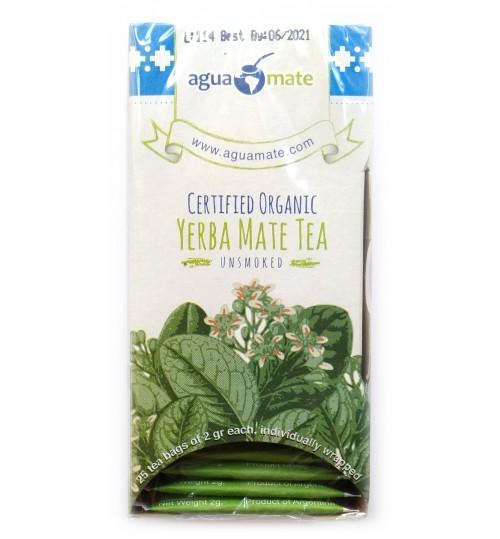 Aguamate 阿瓜瑪有機原味瑪黛茶袋泡茶 25 獨立茶包