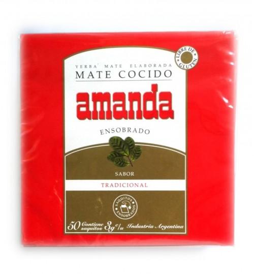 Amanda 阿曼逹原味瑪黛茶袋泡茶 50 茶包