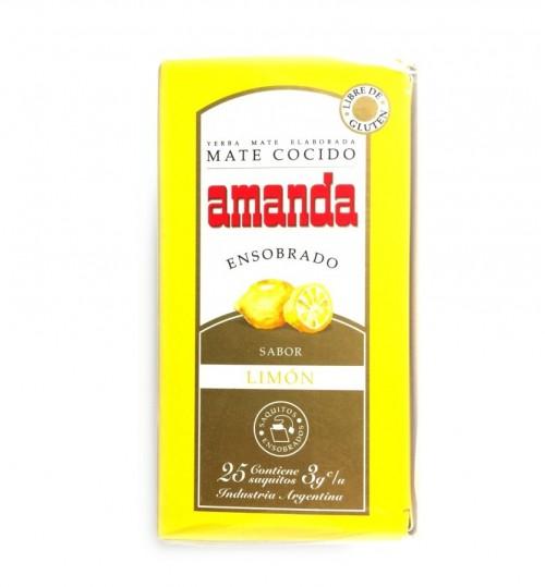 Amanda 阿曼達檸檬味瑪黛茶袋泡茶 25 茶包