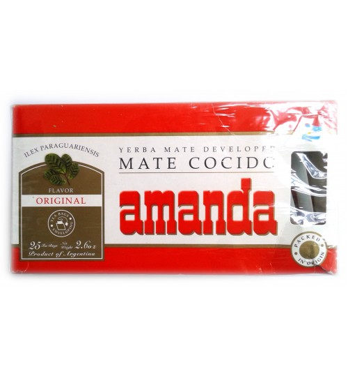 Amanda 阿曼逹原味瑪黛茶袋泡茶 75 克(25 獨立茶包)