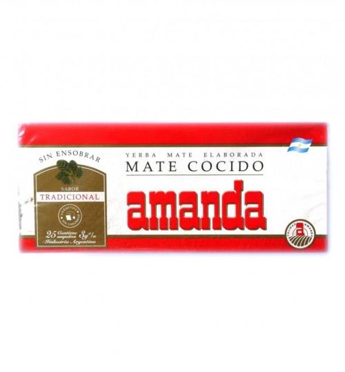 Amanda 阿曼逹原味瑪黛茶袋泡茶 25 茶包