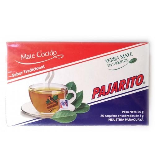 巴拉圭 Pajarito 小鳥牌原味瑪黛茶袋泡茶 20 環保茶包
