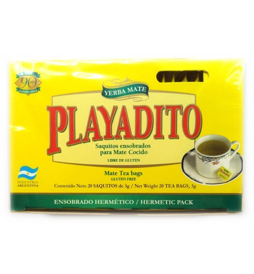 Playatido 帕雅蒂圖原味瑪黛茶袋泡茶 20 獨立茶包