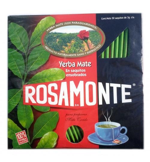 Rosamonte 羅莎蒙特原味瑪黛茶袋泡茶 50 獨立茶包