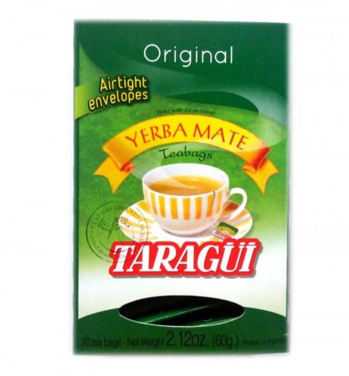 Taragüi 達然桂原味瑪黛茶獨立袋泡茶 20 茶包(鋁箔袋)