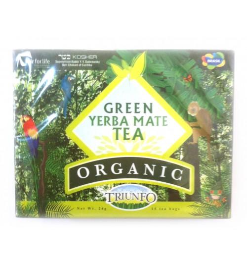 巴西 Triunfo 翠又佛有機綠色原味瑪黛茶袋泡茶 15 茶包