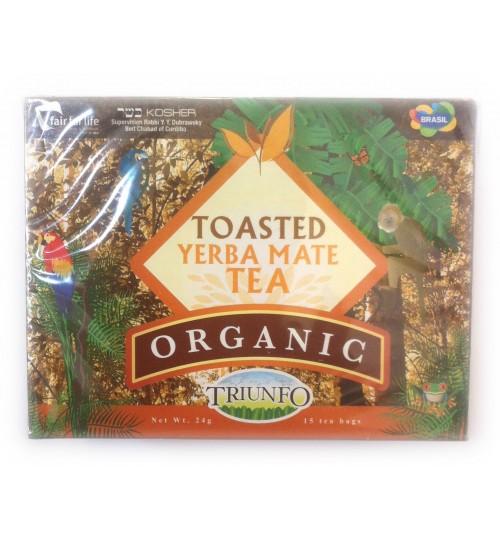巴西 Triunfo 翠又佛有機烘焙原味瑪黛茶袋泡茶 15 茶包