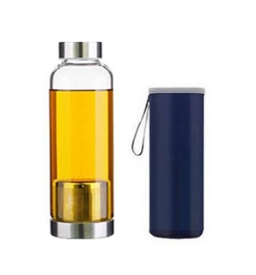 時尚隨身瑪黛茶隔玻璃水樽(420毫升)
