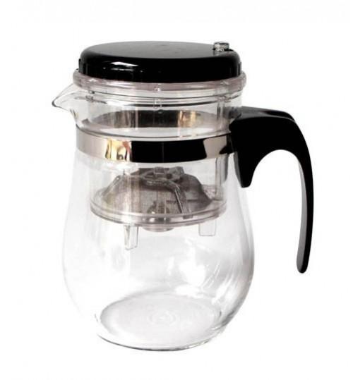 圓錐型瑪黛茶泡茶過濾茶壺(500毫升)